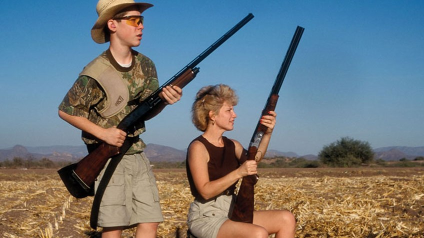 dove hunting Texas, dove hunting with kids, children in the outdoors,