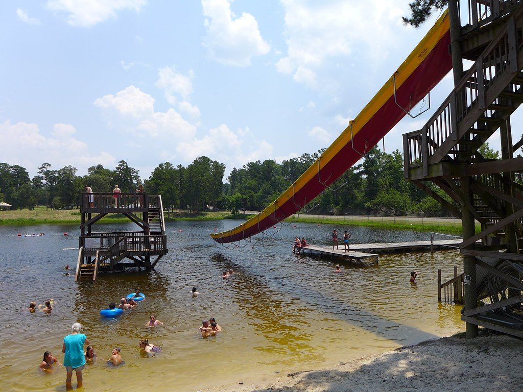 Swimming hole Texas, water sports East Texas, public swimming Golden Triangle, Lake Tejas information,