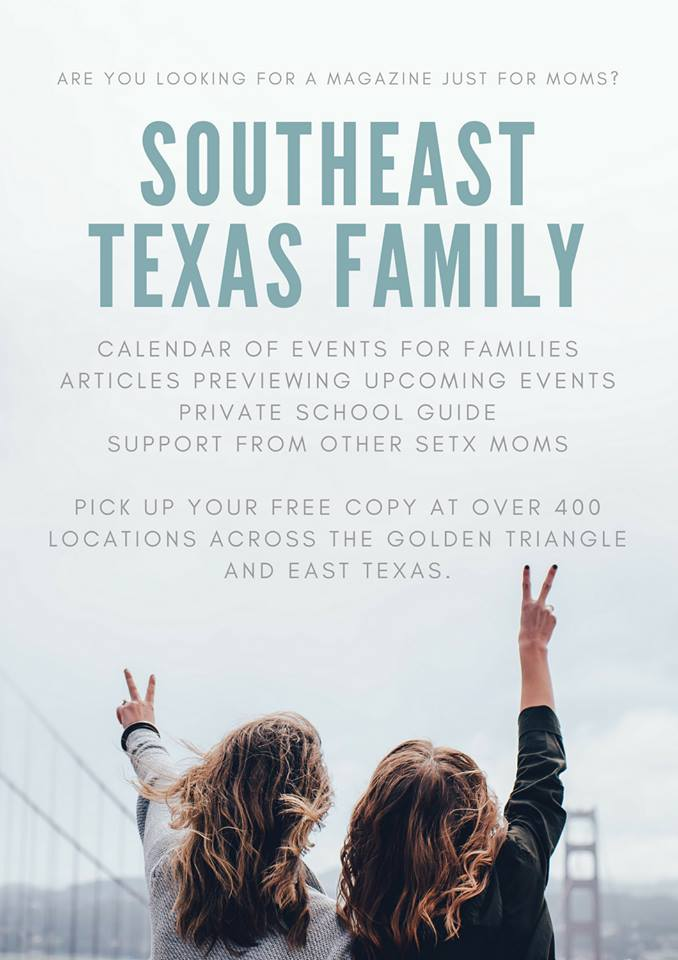 family guide Beaumont TX, event guide Southeast Texas, SETX News, SETX travel, road trip Southeast Texas, calendar Beaumont TX