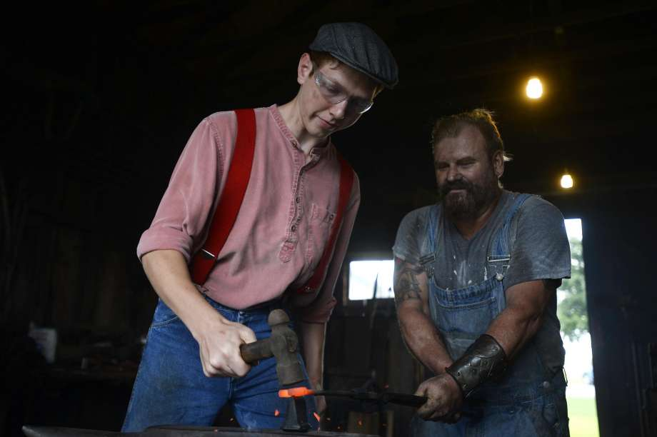 Lamar University blacksmith, Spindletop Museum Calendar, event guide SETX,