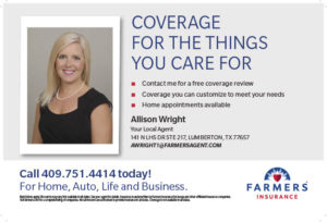 insurance Lumberton TX, flood insurance Hardin County, Golden Triangle car insurance, Southeast Texas windstorm