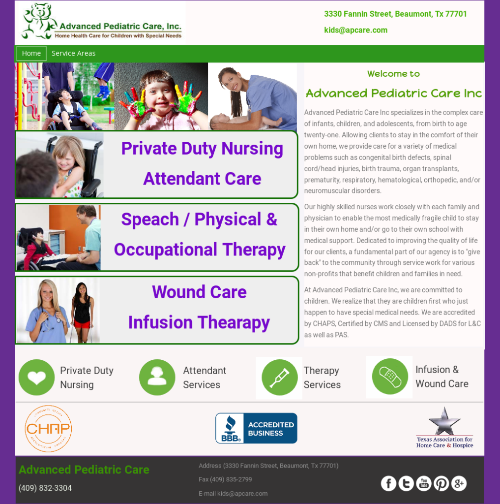pediatric home care Southeast Texas, pediatric resources Beaumont, children's medical Golden Triangle,