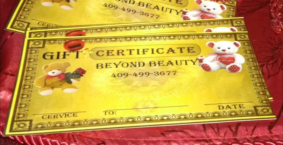 Valentine's Day Beaumont, gift certificate Southeast Texas, permanent cosmetics SETX, Golden Triangle beauty spa,