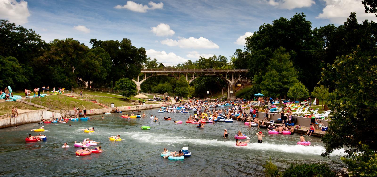 trip planner New Braunfels, restaurant guide Gruene TX, live music New Braunfels,