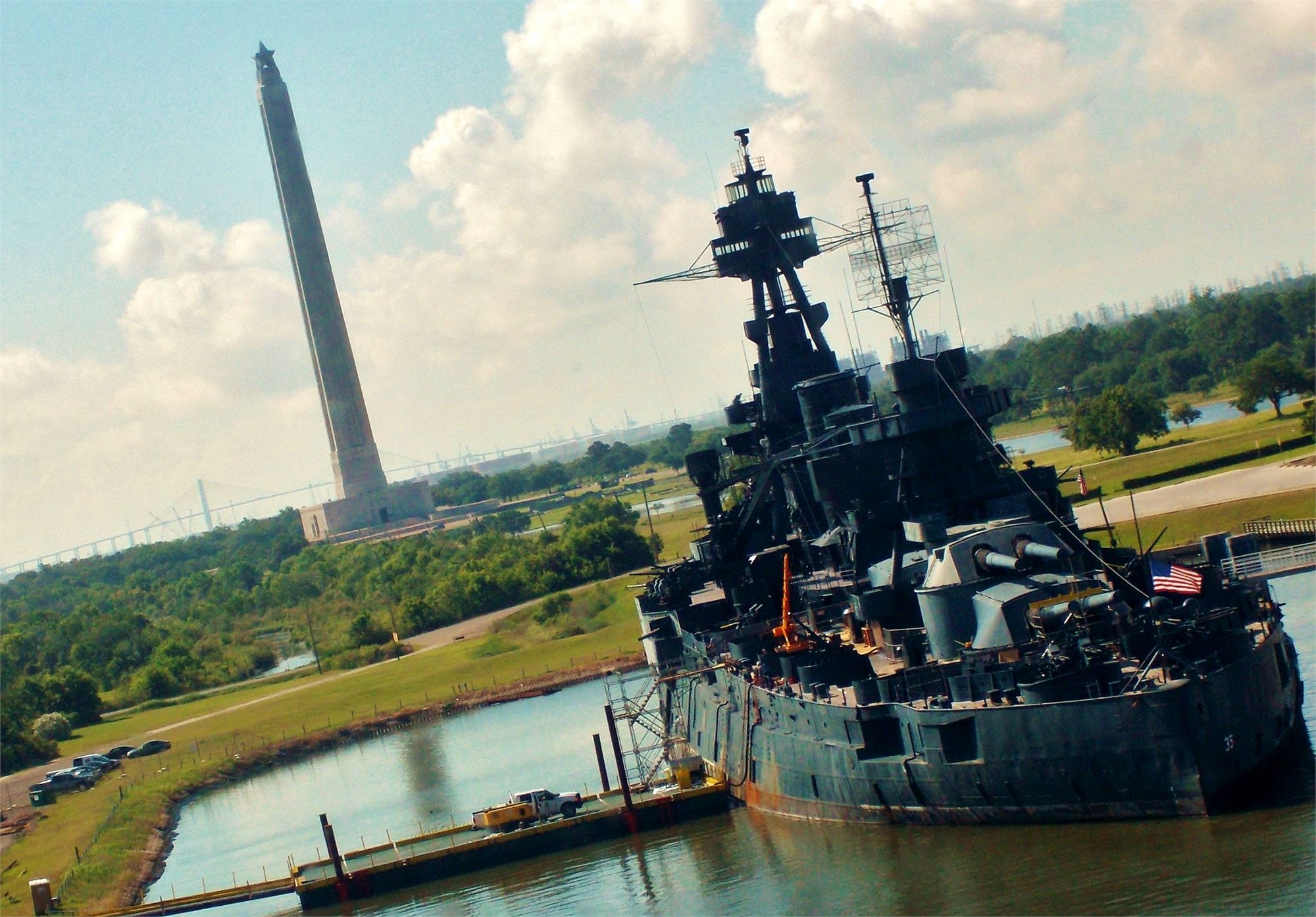 San Jacinto Monument, Monument Inn, Battleship Texas, Texas road trip ideas,