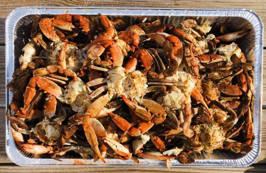 crab boil Southeast Texas, boiled crabs Beaumont, seafood Orange TX, Bridge City fine dining,