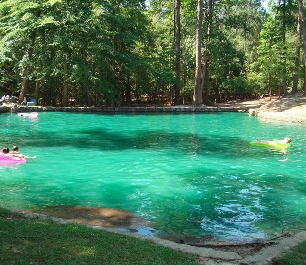 road trip guide Texas, to do East Texas, swimming holes Texas, swim area East Texas,