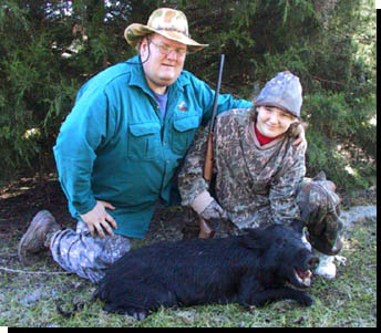 hunting with kids Beaumont, hog hunting East Texas, hunting with girls,