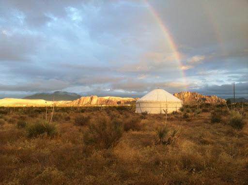 yurt El Paso, RV Park Hueco Tanks, lodging Franklin Mountains,