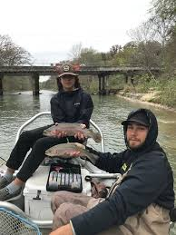 trout fishing Guadalupe River, trout fishing Comal River, fishing New Braunfels,