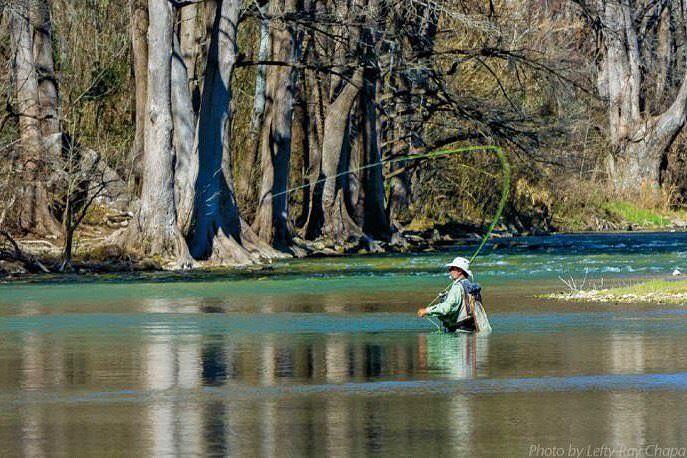 rainbow trout fishing New Braunfels, brown trout fishing Guadalupe River, trout fishing Comal, fishing San Marcos,