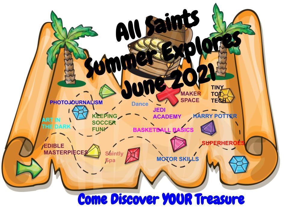 All Saints Explorers, summer camp Beaumont, SETX summer calendar, Southeast Texas kids events,